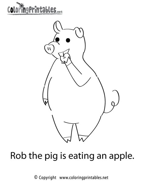reading coloring pages printable free printable reading pig coloring page