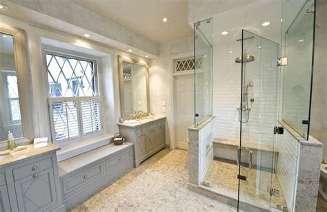 Gray Bathroom Cabinets   Transitional   bathroom   Martha