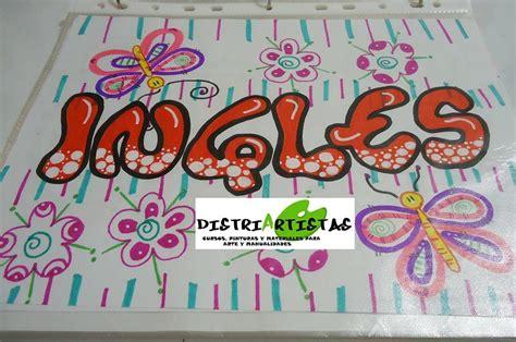 decorados in english aprende a decorar con 20 abecedarios diferentes en