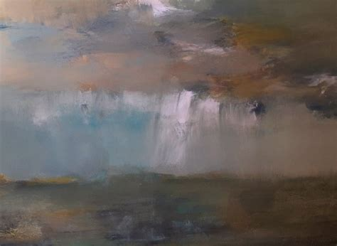 3x4 abstract landscape acrylic painting contemporary