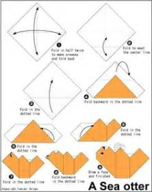 The Sea Origami - origami animals how to guide on origami