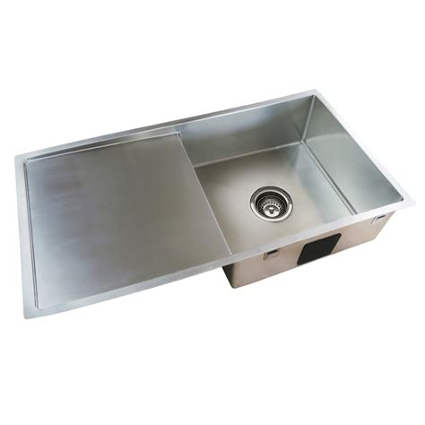 Everhard Sinks by Everhard Squareline Plus Single Bowl Sink And Drainer With
