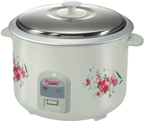Rice Cooker prestige prwo 2 8 2 electric rice cooker with steaming feature price in india buy prestige