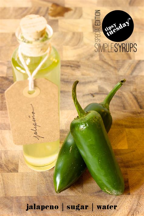 jalapeno simple syrup fabric paper glue tipsy tuesday margarita w jalapeno syrup