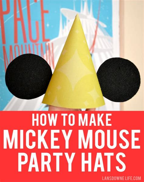 How To Make Mickey Mouse Ears Out Of Paper - 17 best ideas about mickey mouse ears hat on