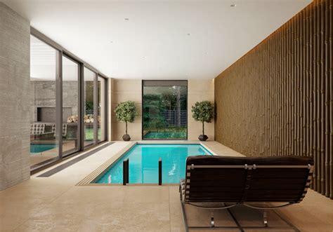 modern house interior design ideas  elegant indoor swimming pool roohome