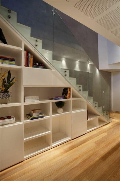 beleuchtung unter treppe 50 bilder und ideen f 252 r treppenaufgang gestalten