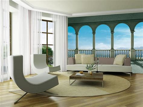 modern mural wall murals living room furniture contemporary furniture
