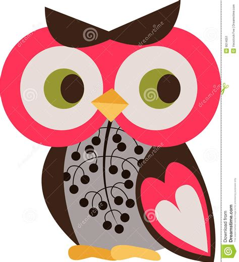 owl character stock illustration illustration of graphic