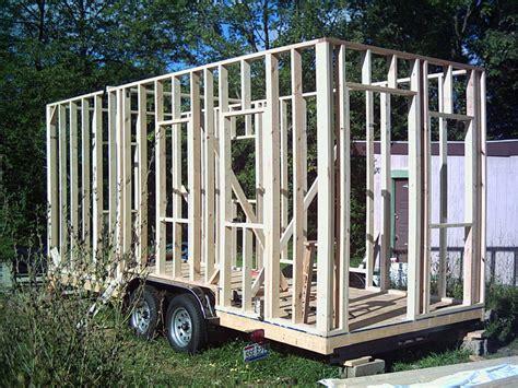 Erick S Tiny House Recording Studio Tiny House Framing Plans On A Trailer