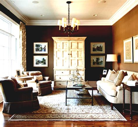 living room paint colors to match brown furniture
