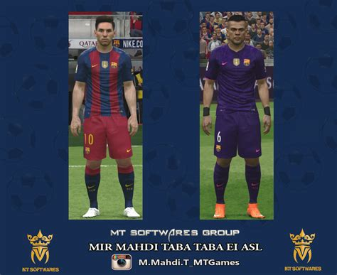 Bahan Ny Barcelona Away 17 18 pes 2016 barcelona 2016 17 kit by mt pes patch