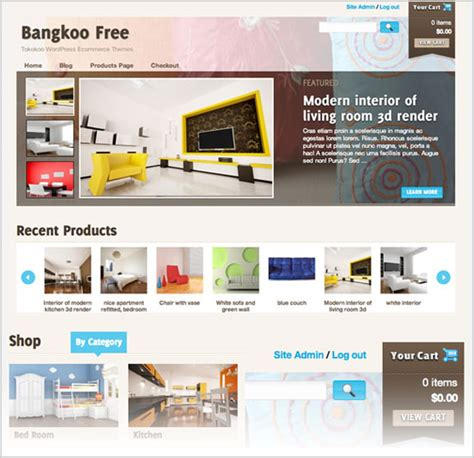 best latest free premium wordpress e commerce themes