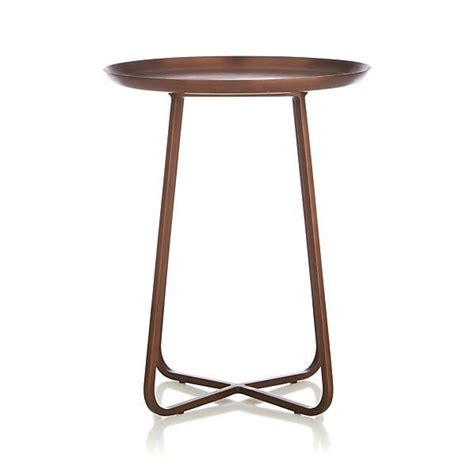 copper accent table penelope copper accent table