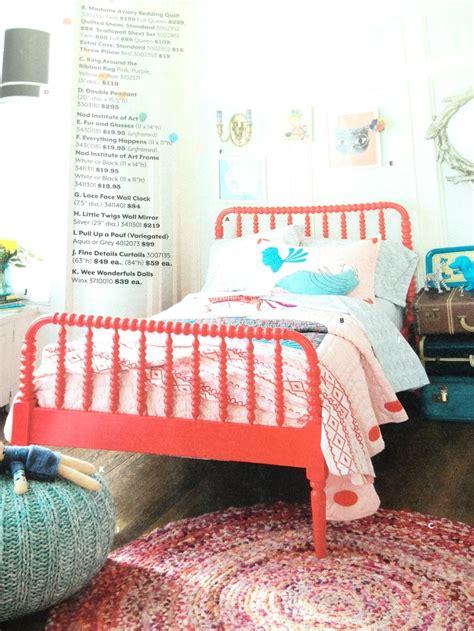 Lind Beds Land Of Nod Raspberry Lind Bed Lind Spindle