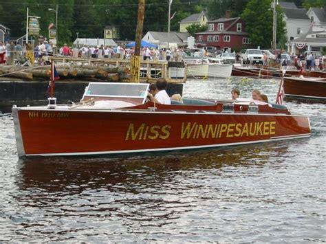 miss severn winnipesaukee photopost gallery quot miss winnipesaukee quot meredith antique boat show