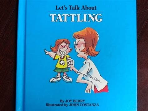 let s rock books let s talk about tattling a book for children