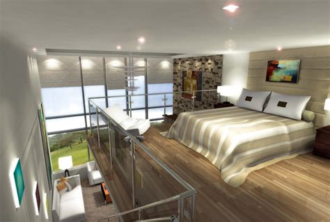 Loft Bedroom | loft master bedroom designs interior design ideas