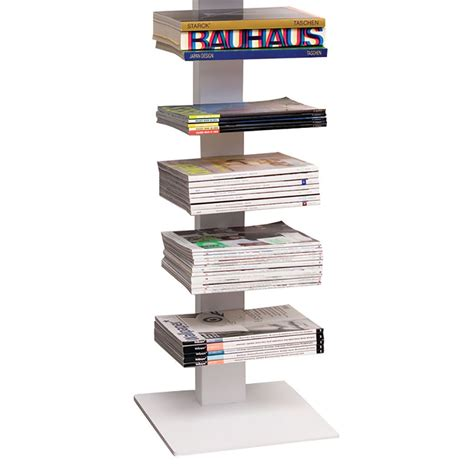 top3 by design luxxbox stak bookshelf 2m white dc