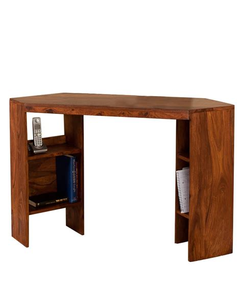 Corner Desk Brown Shree Krishna Export Corner Desk In Brown Best Price In India On 14th March 2018 Dealtuno