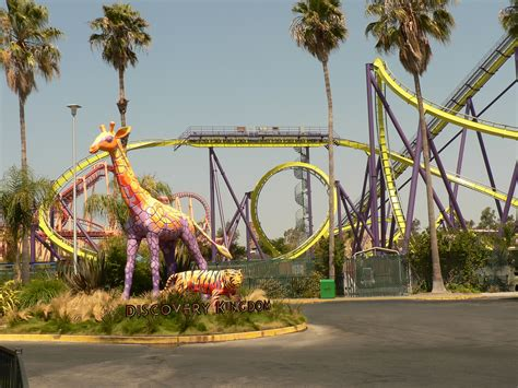 theme park united states six flags discovery kingdom theme park in california