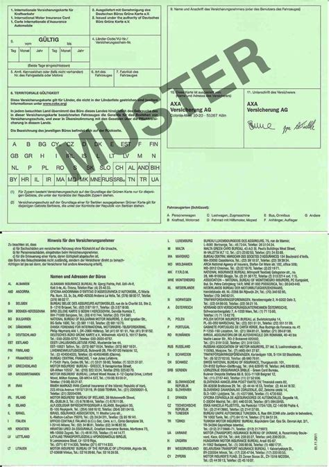 Autoversicherung Italien by Kurzzeitkennzeichen Versicherung Evb Nummer Ausland