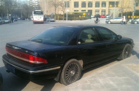 Chrysler China by Spotted In China Chrysler Concorde Carnewschina