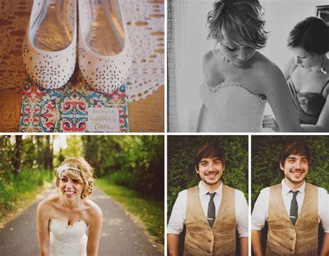 Real Wedding Jordan Nick S Diy Backyard Wedding Green Wedding Shoes Weddings