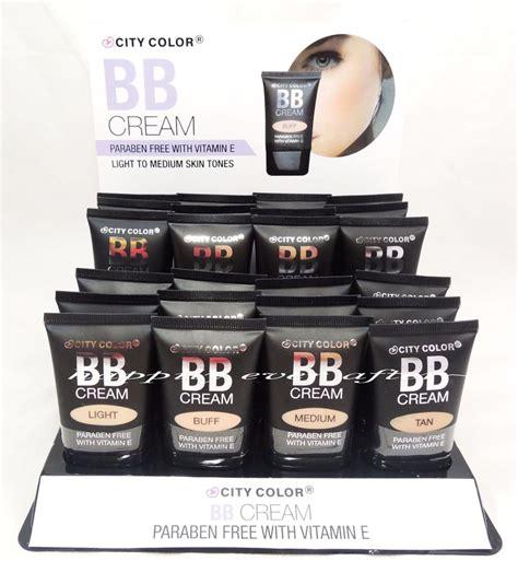city color bb paraben free with vitamin e