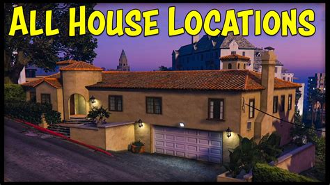 house online gta 5 online all new house locations interiors prices