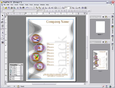 publishing templates desktop publishing free serifsoft pageplus se bill