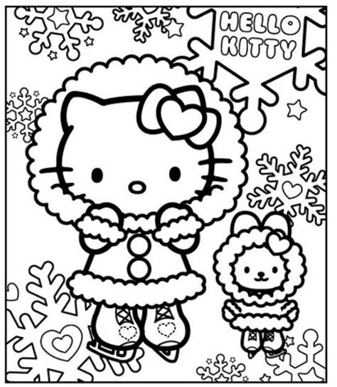 free printable disney winter coloring pages disney winter coloring pages 16584283349 hello kitty in