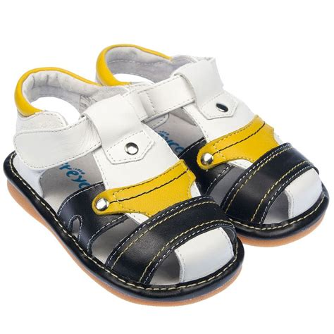 childrens sandals boys toddler childrens real leather squeaky shoes
