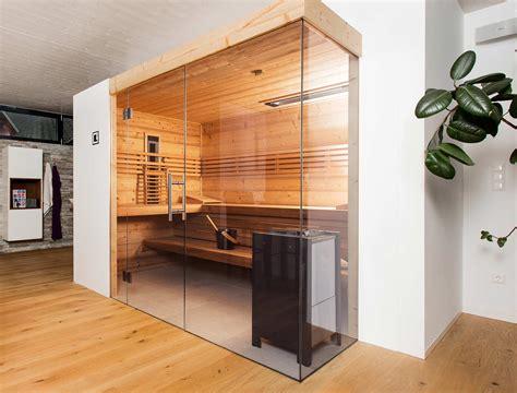 glas sauna aussensauna deisl gesundes vertrauen in holz