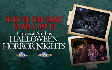 Universal Studios Sweepstakes 2016 - fandango halloween horror nights 2016 sweepstakes