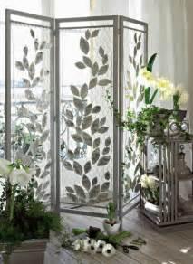 Attrayant Plantes D Interieur Originales #1: paravent-interieur-grillage-feuilles-metal-ambiance-naturelle.jpg