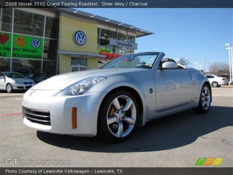2008 nissan 350z touring silver alloy 2008 nissan 350z grand touring roadster