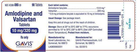 Valsartan 160 Mg Novel amlodipine and valsartan gavis pharmaceuticals llc fda