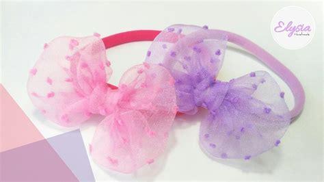 Headband Baby Handmade 17 headband ideas for baby with organza fabric band