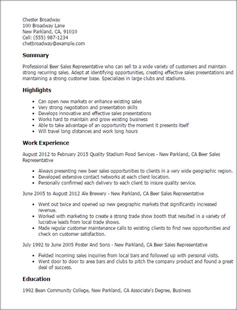Food Sales Representative Cover Letter by Professional Sales Representative Templates To Showcase Your Talent Myperfectresume