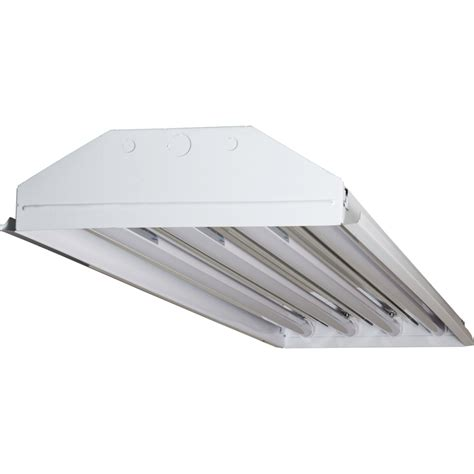 4 light fixtures techbrite b4144ssumxx 18w5k 4 light t8 led high bay