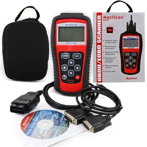 Autel Maxiscan Ms509 Obd Scan Tool Obd2 Scanner Mobil Oem Guaranted autel ms509 maxiscan obdii obd2 diagnostic fault code reader