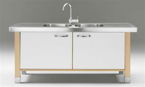 Free Standing Kitchen Sink Cabinet Sink Base In Metal Color Sinks Free Standing Free Standing Laundry Sink With Cabinet