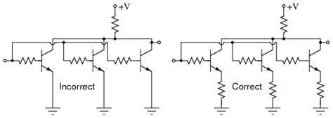 a bipolar transistor is connected to a resistive load bjt quirks bipolar junction transistors electronics textbook