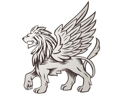 lion with wings tattoo with wings meaning www pixshark images