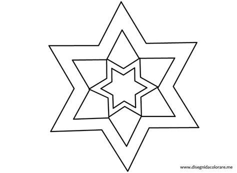 sagome di fiori da stare sagoma stella disegni da colorare