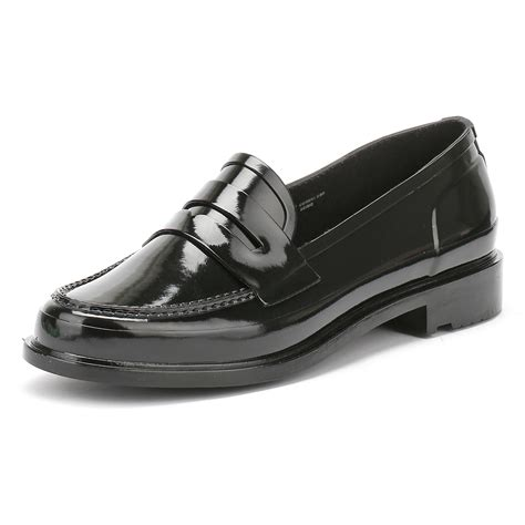 Sandal Loafers Kasual Flat Shoes Original Jk Collection Jln Putih original womens black rubber loafer casual shoes ebay