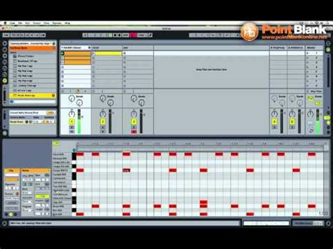 make drum pattern ableton ableton live tutorial juke beat with 808 drum kit youtube