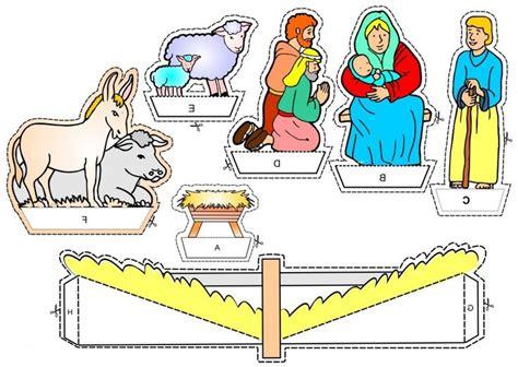 free printable nativity diorama kerst diorama voor kleuters 2 kleuteridee christmas