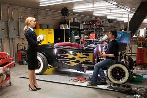 tony starks cars in iron man 2008 movie photos of robert downey jr